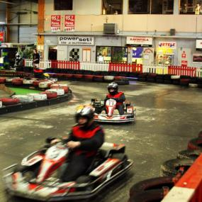 Indoor go karting centre in Tallinn